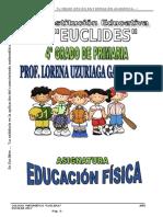 Modulo de Educ. Fisica 4grado Primaria