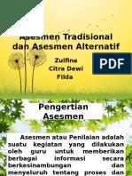 Asesmen Tradisional Dan Asesmen Alternatif