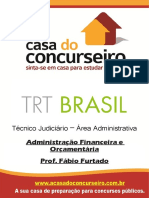 Apostila Trt Brasil Administracao Financeira e Orcamentaria
