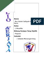 Folio Kerjaya 2