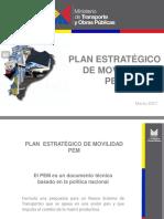 Plan Estratégico de Movilidad - Conferencia Mtop