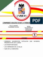 Comunidades Religiosas Villavicencio