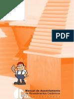 Manual de Assent Amen To e Revestimento de Pisos Ceramicos Piso Externo