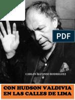CON HUDSON VALDIVIA EN LAS CALLES DE LIMA - CARLOS ALFONSO RODRIGUEZ