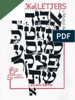 Sefer Otiyot -  Livro Das Letras - Kushner (ingles).pdf