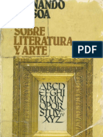 Sobre literatura y arte