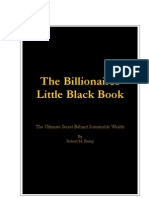 Billionaires Black Book by Robert Bailey