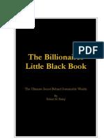 Billionaires Black Book by Robert Bailey
