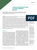 Agrupación de casos de síndrome de Guillain-Barré atípico