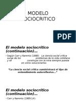Modelo Sociocritico