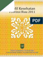 Profil Kesehatan Provinsi Riau Tahun 2011