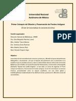 """Programa Coloquio """"Hojear el Siglo XX"""""""