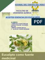 Diapositivas Eucalipto Quimica Organica