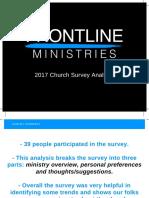 2017 Church Survey