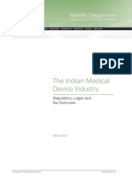 The Indian Medical Device Industry