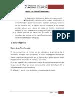 diseño transformador informe