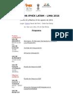 Iphex Latam Program
