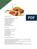 Resep Masak Ayam Goreng Kalasan Sambal Tomat