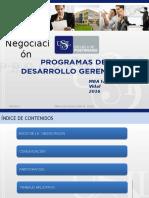 Modulo II Negociacion 2016