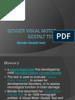 Gestalt Bender Report