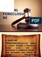 Judicial Foreclosure