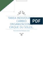 Organizacional Cirque Du Soleil.