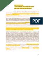 Arquitectura Contra Natura_ Apuntes Sobre La Autonomia de La Arquitectura Con Respecto a La Vida, El Sitio y La Tecnica