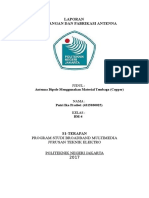 Laporan CST Antenna-Putri Ika BM4-700mhz