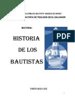 2012 Historia de Los Bautistas