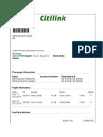 Tiket Pesawat Bapak Dan Ibu