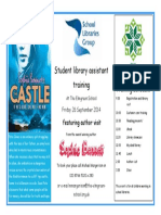 Library Assistant Training Day