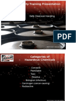 Chemical Handling Safety