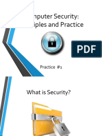 Is - PS1 - Principles and Practice