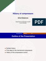 History of Compressor