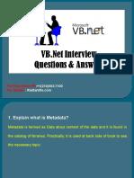 VB.net Online Training