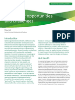 Gut Health Opportunities and Challenges