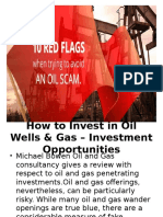 How Benefical to Investing in  Michael Bowen Oil and Gas Industry