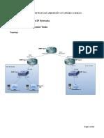 NMS Lab1 Network Management Tasks
