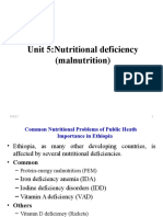 5. Nutritional Deficiency for Class