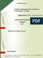 1- Abdala Amade Abudo