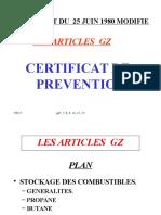 Certificat de Prévention- Stockage Des Hydrocarbures-GZ_TE