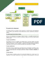 Clasificacic3b3n Lenguas