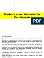 Madeira Como Materias de Construcao