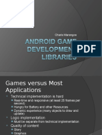 2012 Android Game Library and Game