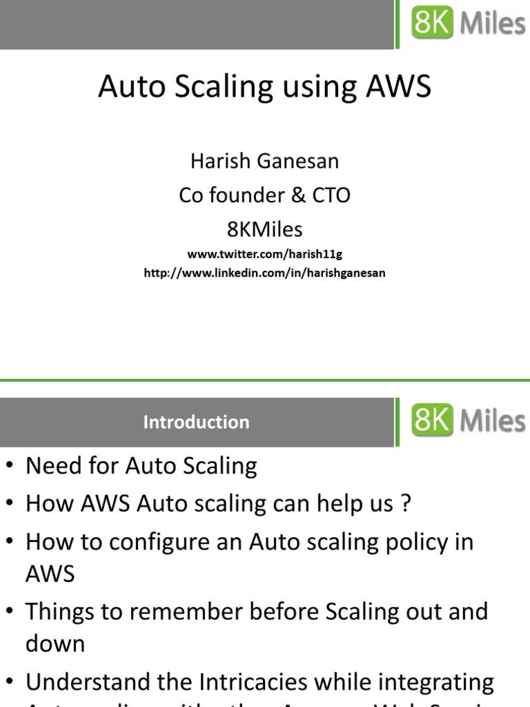53667910-Auto-Scaling-Using-Amazon-Web-Services pdf | Amazon Web