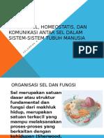 Biologi Sel, Homeostatis, Dan Komunikasi Antar