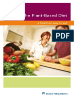 The Plant Based Diet Booklet