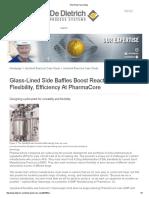 Pilot Plant Case Study
