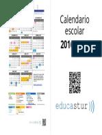 Calendario Escolar 2016 2017 Cuadernillo