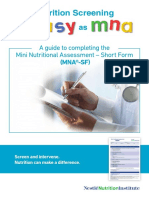 6. Mini Nutritional Assessment – Short Form